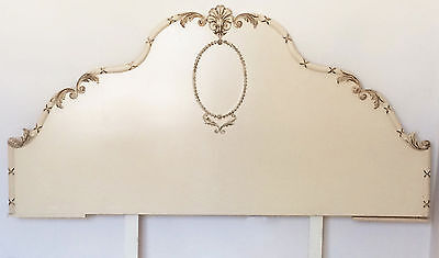 Vintage Headboard for double bed 4'6""