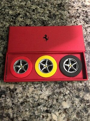 Ferrari Erasers. Set Of 3. New. Ferrari