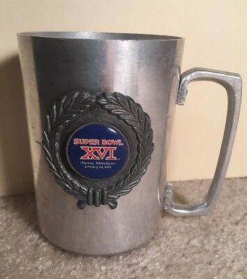 Super Bowl XVI 1981 Commemorative Cup Mug