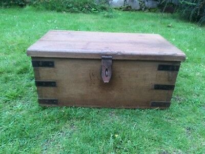 Victorian Elm  Trunk / Box / Chest