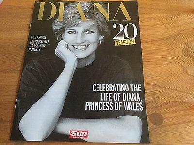 PRINCESS DIANA 20 YEARS ON Royal Special Souvenir Tribute 2017 Magazine NEW! UK