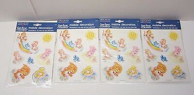Vintage Lot of 4 Vintage Care Bear Cousins Mobile Decoration American Greetings