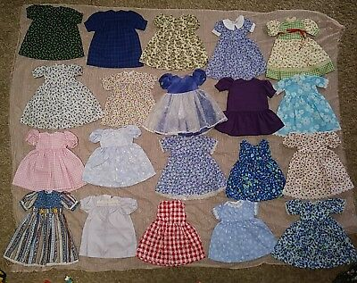 """20 Doll Clothes Handmade 16"""" Dolls Missing Closures NEW"""