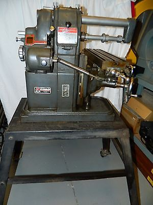 Vintage Atlas Horizontal Milling Machine Model MF on Floor Stand (freight avail)