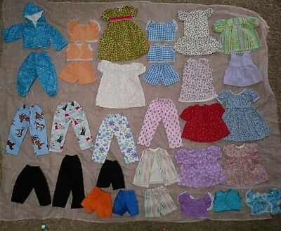 """26 Doll Clothes Handmade 16"""" Dolls Missing Closures NEW"""