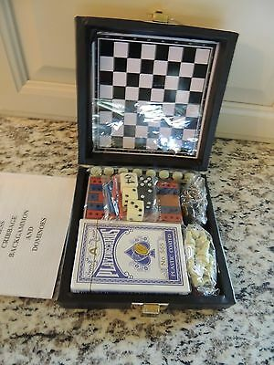 1980 Enjoy Diet Coke Playing Cards & Games in Case, Mint in Box, Made in U.S.A.