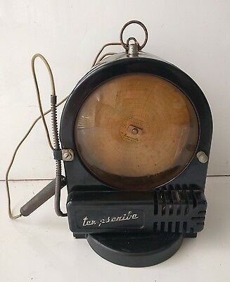Vintage Tempscribe Bacharach Temperature Chart Recorder with Red Ink