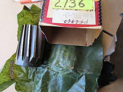 """(2)- 2.736"""" SHELL REAMERS ,4"""" Total Length, NATIONAL,NEW In Box,Made In USA !!!"""