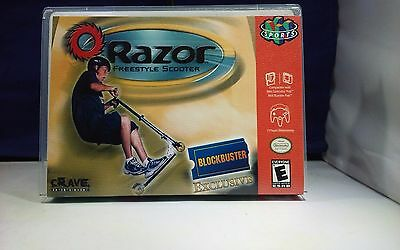 razor freestyle scooter n64