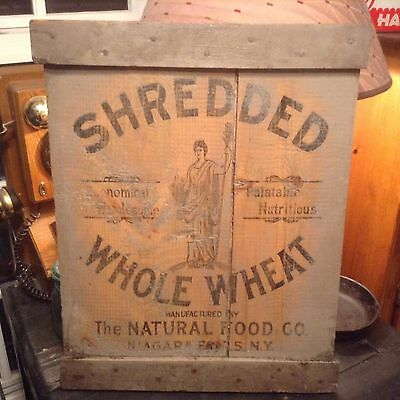 Vintage Nabisco Crate Sign