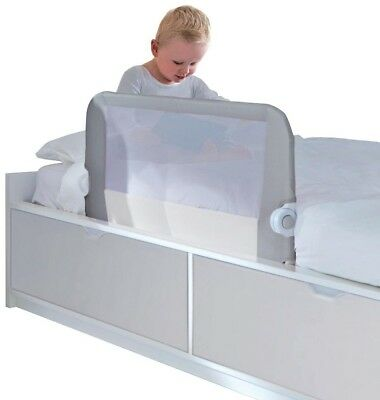 Easy Fit Bed Guard Toddler Baby Infant Kid Single Bedrail Cotbed (Neutral)