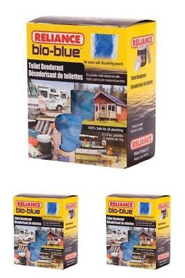 Reliance Bio-Blue Toilet Chemicals for Portable Deodorant RV Camper 12 Pack New
