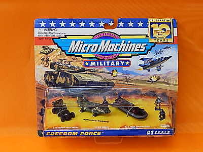Galoob Micro Machines Military Freedom Force #1 Seals  (I-555)*