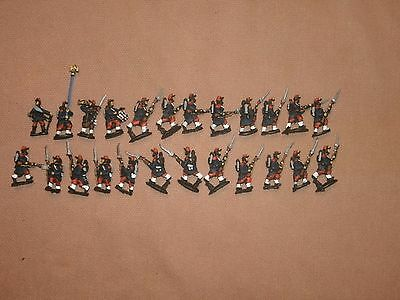 Painted 15mm Franco Prussian War,French Infantry. (C)