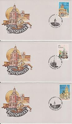 (K38-8) 1980-3 AU mix of 27 FDC & PSE mixed condition (some toning) (8E)