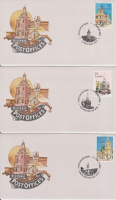 (K38-7) 1980-3 AU mix of 25 FDC & PSE mixed condition (some toning) (7G)