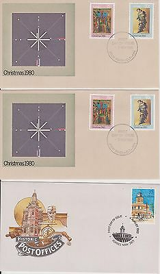 (K38-2) 1979-83 AU mix of 27 FDC & PSE mixed condition (some toning) (2B)