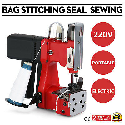 220V Industrial Bag Stitching Closer Seal Sewing Machine GK9-890 Tool 190W