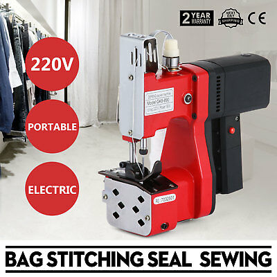 220V Industrial Bag Stitching Closer Seal Sewing Machine GK9-890 Cloth Reliable
