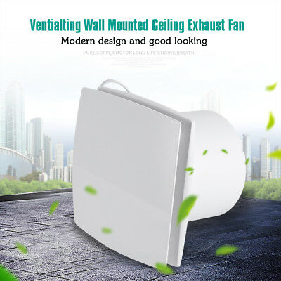 Bathroom Ceiling Wall Mounted Ventilation Exhaust Fan Home Ventilating System SG