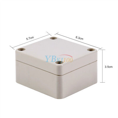 IP66 Waterproof Junction Box 65x60x35mm Connection Outdoor Terminal Box Cover LJ