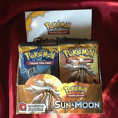 Pokemon Trading Cards Sun & Moon Brand New Sealed Pack