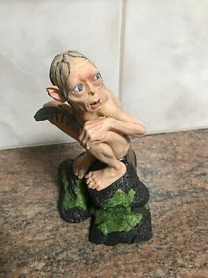 Gollum Smeagol Statue Collectible Two Towers Lord Of The Rings