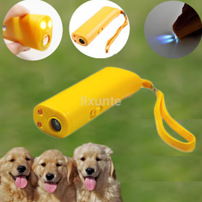 Ultrasonic Pet Dog Repeller Training Anti Barking Electronic Device Trainer US