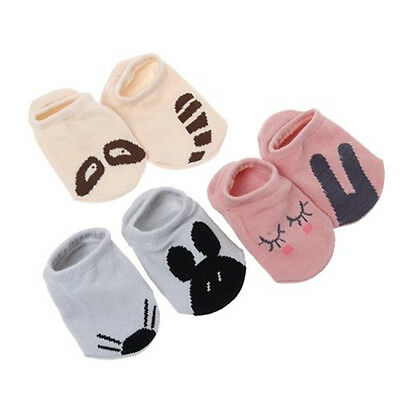 Unisex Baby Infant Newborn Kid Asymmetric Cute Printed Soft Short Cotton Sock