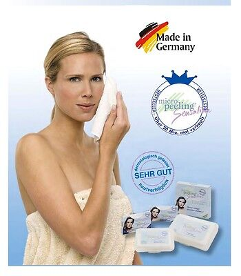 Makeup, Dirt, Dead skin remove with Micro Peeling sensation Towel or Glove