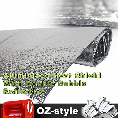 Foil Air Bubble Cell Radiant Reflective Insulation Garage Floor Attic 1.2 x 20M