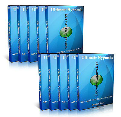 New Dvd Video Course In Nlp Hypnotherapy Stage Hypnosis Power Hypnotism