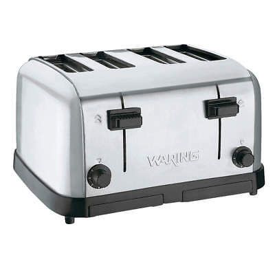 Waring Commercial 4-Slice Medium Duty Toaster WCT708