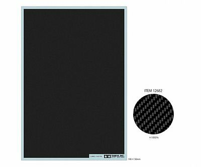 Tamiya 12682 Carbon Pattern Decal(Twill Weave/Extra Fine)For 1/12 1/24 Model Car