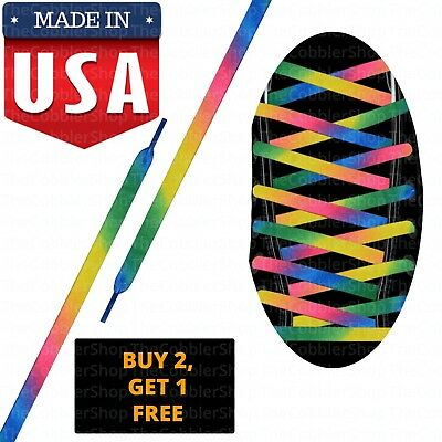 CONVERSE COMPATIBLE FLAT Athletic Laces Made in USA Buy