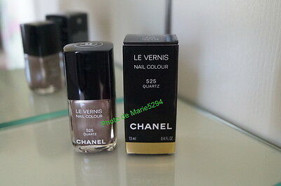 CHANEL Vernis à Ongles  525 QUARTZ  Nail Lacquer +Boite   (Box) NEUF    SOLD OUT