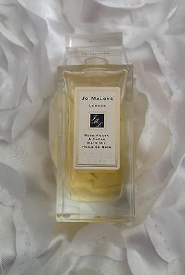Jo Malone 30ml Blue Agava &Cacao Bath Oil In Glass Decanter VERY RARE
