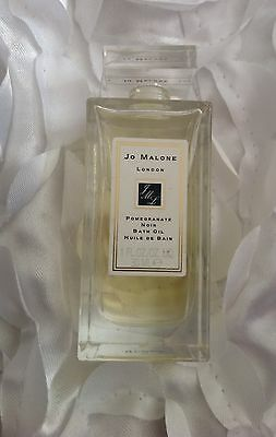 Jo Malone 30ml Pomegranate Noir Bath Oil In Glass Decanter