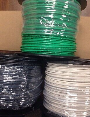 THHN Wire 12 AWG, Green, White ,Black. Stranded. Copper. 3 new rolls . 1500 ft