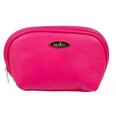 Hot Pink Draizee Fashion PU Leather Cosmetic and Travel Accessory Bag