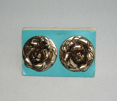 Vintage Cabinet Door Drawer Pulls Roses New Old Stock