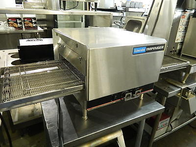 Lincoln Model 1301-4 Impinger Electric Countertop Extended Conveyor Pizza Oven
