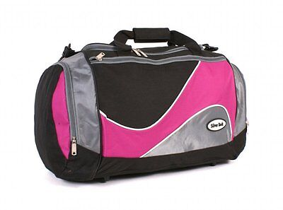 Budget prepacked maternity/hospital/labour bag black and pink