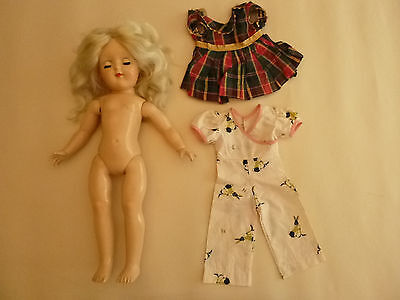 1950's Original P-91 Ideal Toni Doll - Blonde w/2 outfits