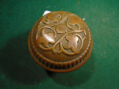1900 Russell & Erwin 'amarat'  Single Brass Door Knob  Blumin H-26800   (9098)