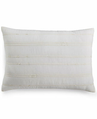 CALVIN KLEIN HOME Briar Pulse WeaveBud 40 X 40 White Decorative Custom Calvin Klein Madeira Decorative Pillow