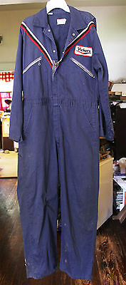Vintage Gas Station Work Overalls, Vickers