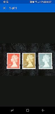 500 1st class used unfranked stamps