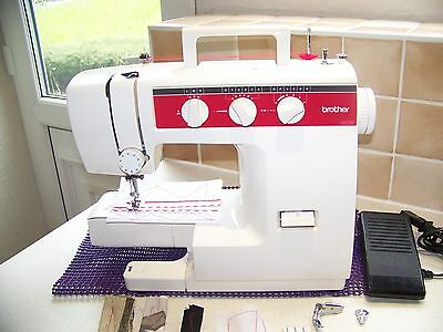 Brother Vx1100 Zigzag Heavy Duty Freearm Metal Chassis Sewing Machine,serviced