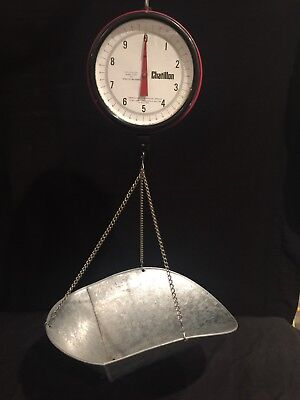 Chatillon Hanging Produce Scale 20 Lbs. Capacity - Model 027 /a